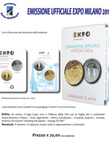 Emissione Ufficiale Medaglie EXPO 2015